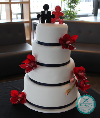 City Wedding Cake