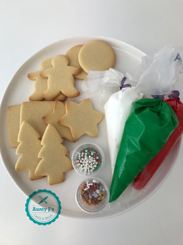 DIY Santa Cookie Kits