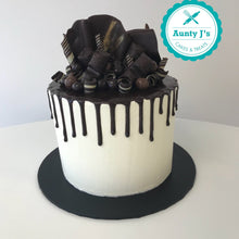 White Chocolate Overload Drip Cake