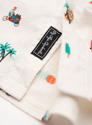 Cali - Hawaiian Hemp Shirt by Olga Capdevila