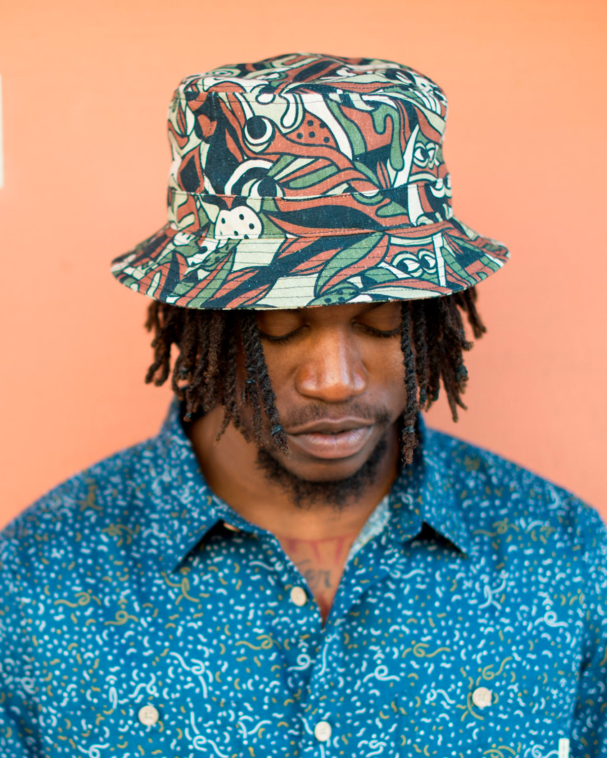 Camo Mood by Vincs - Hemp Bucket