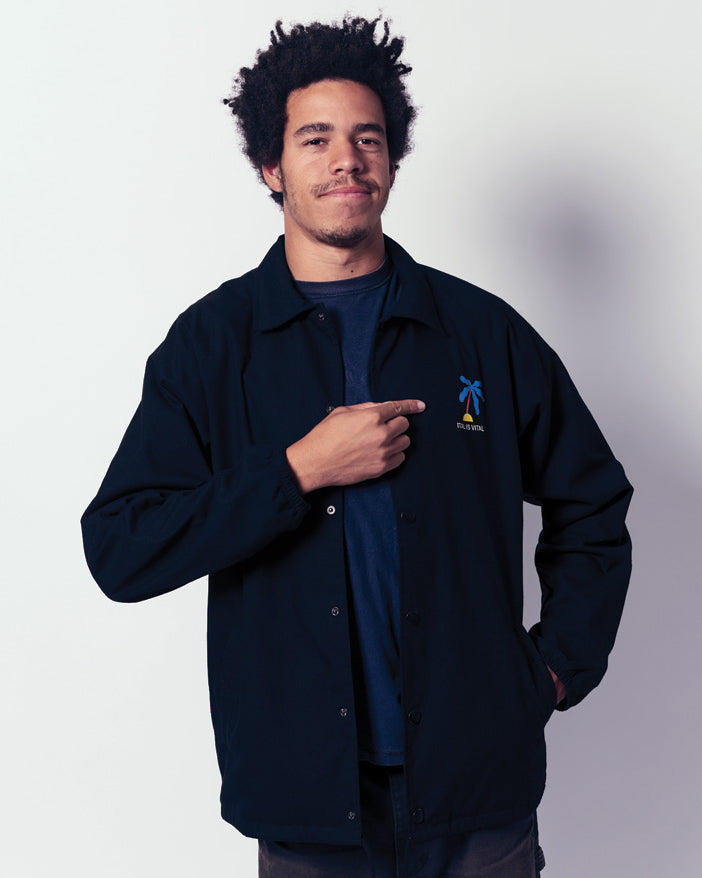 Island Waterproof Coach Jacket by Zebu