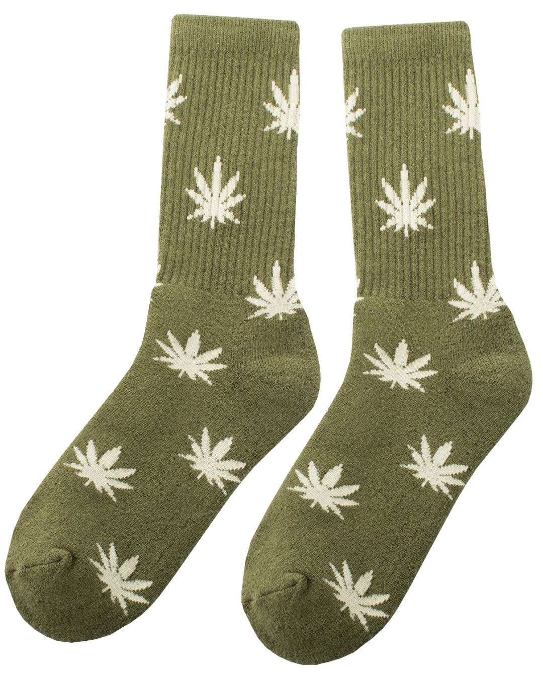 Hope Leaf Green - Organic Hemp Socks