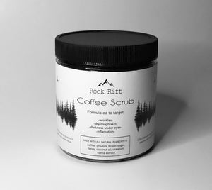 All Natural Rock Rift Coffee Scrub 8 oz.