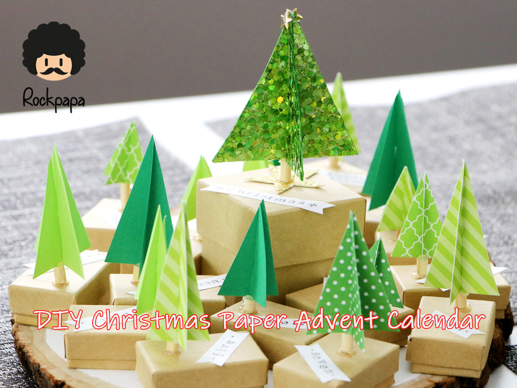 DIY  Christmas Paper Advent Calendar(1)