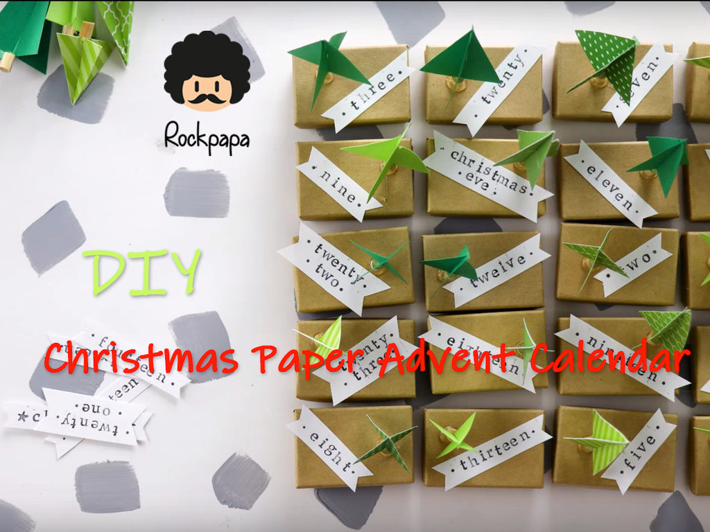 DIY CHRISTMAS PAPER ADVENT CALENDAR(3)