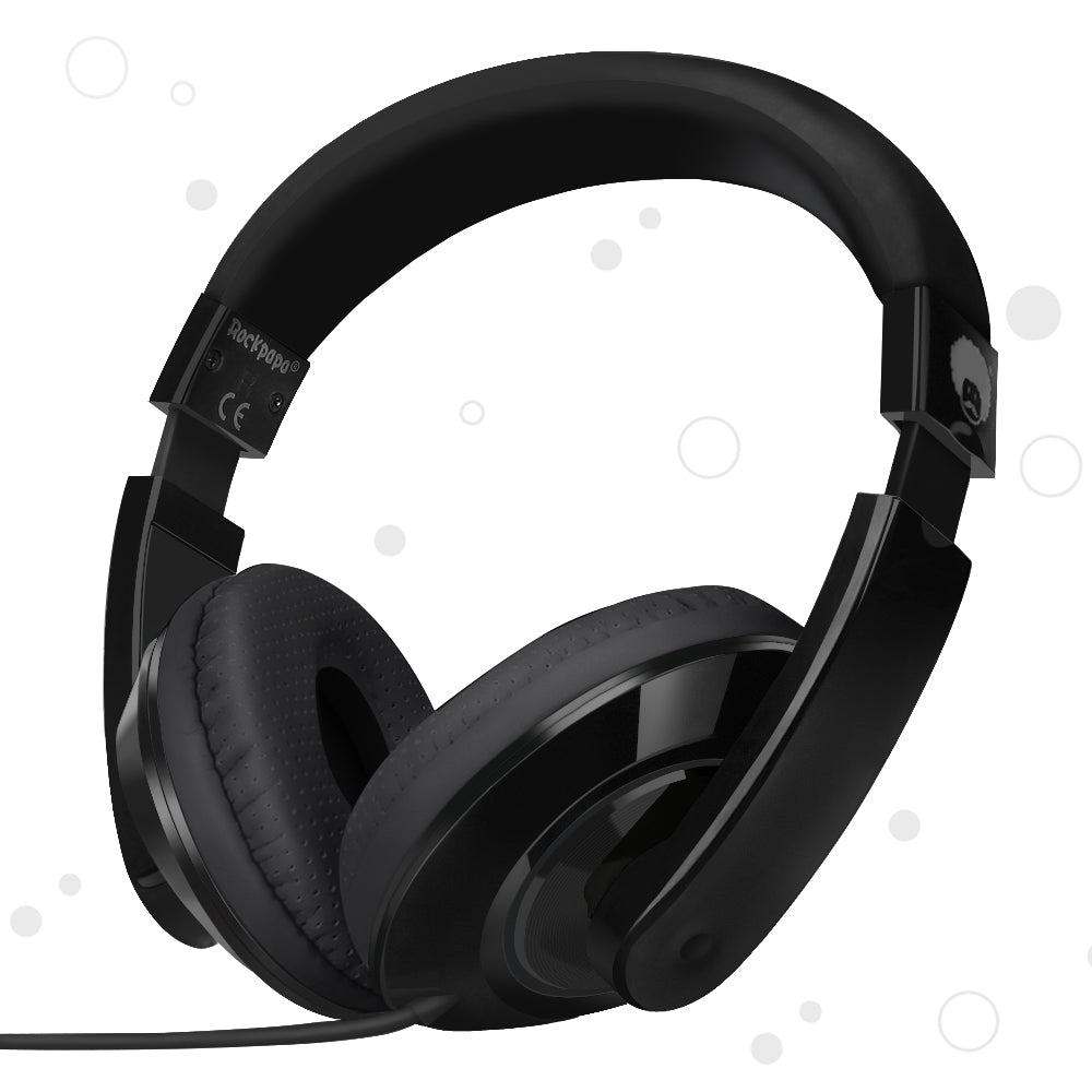 KM780 Stereo Headphones Black