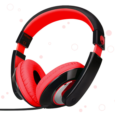 KM780 Stereo Headphones Red