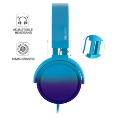 982 Big Earbud Gradient Series - BLUE