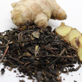Organic Black Leafy Tea With Ginger