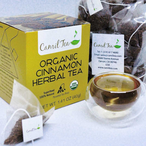 Organic Cinnamon Herbal Tea