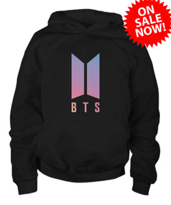 BTS Love Yourself - Black Hoodie