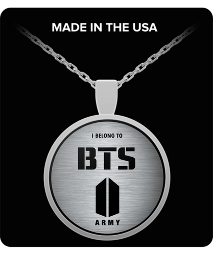 I Belong to BTS Army - Necklace