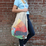 XL Cotton carry all Mesh bag