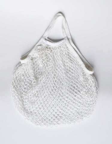 Mesh cotton shopping bag