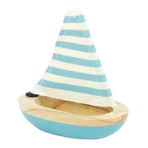 Sailboat Bath Toy (blue)