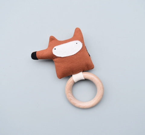 Organic Teething ring (Fox)