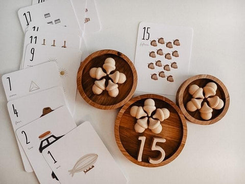 Number Cards (objects)