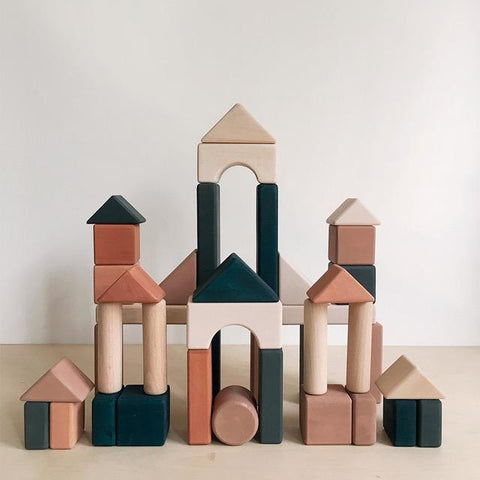 Castle Blocks - Multi-coloured