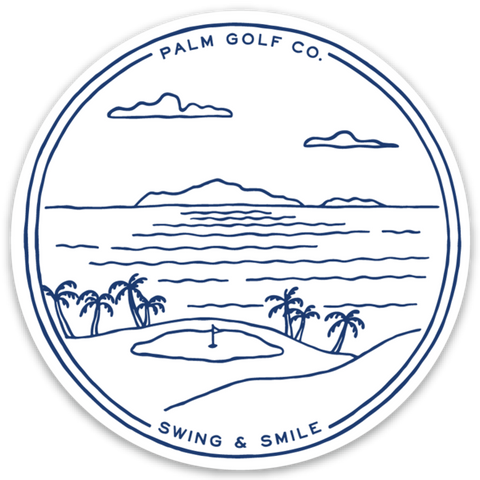 Par 3 Challenge Sticker - Palm Golf Co.