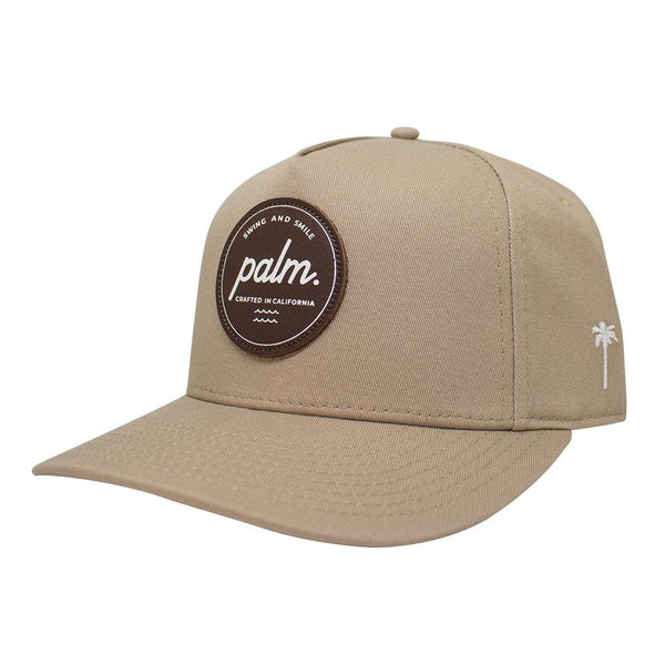 Lowtide Strapback - Khaki - Palm Golf Co.