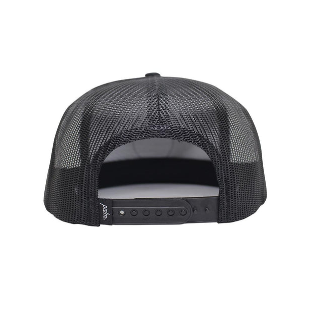 Nomad Trucker (Mid-Crown) - Black - Palm Golf Co.