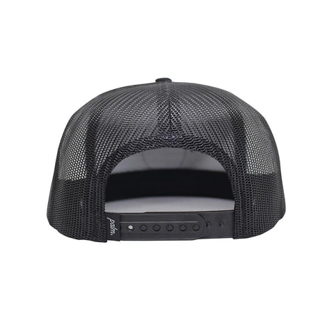 Local Snapback Trucker - Black - Palm Golf Co.