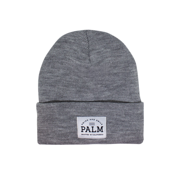 Sierra Beanie - Grey - Palm Golf Co.