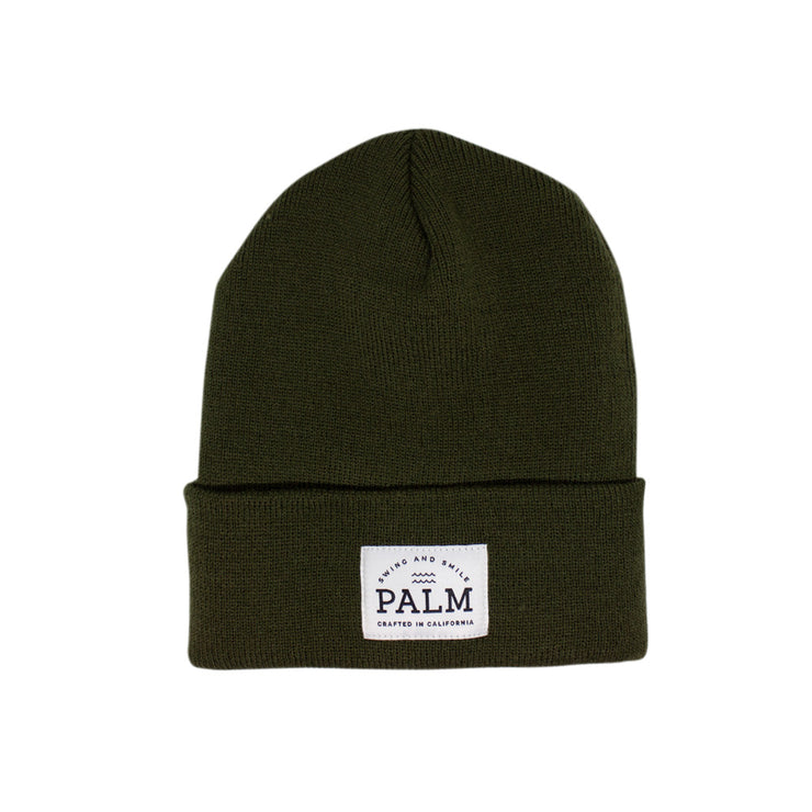 Sierra Beanie - Olive - Palm Golf Co.