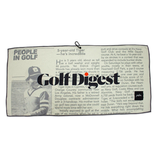 Big Cat Towel - Palm Golf Co.