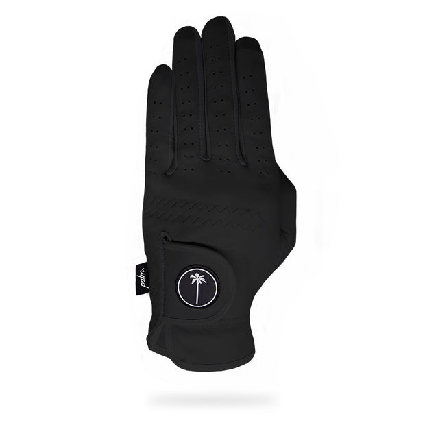 The Canvas Glove (Black) - Palm Golf Co.