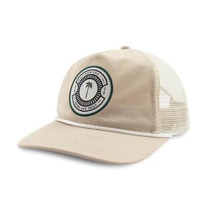 Icon Trucker Snapback (Unstructured) - Palm Golf Co.