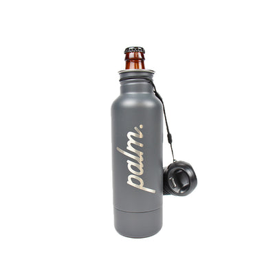 Palm Bottle Keeper- Grey - Palm Golf Co.