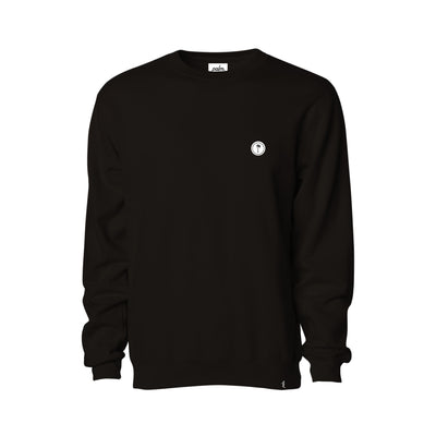 Lazy Palm Crewneck - Black - Palm Golf Co.