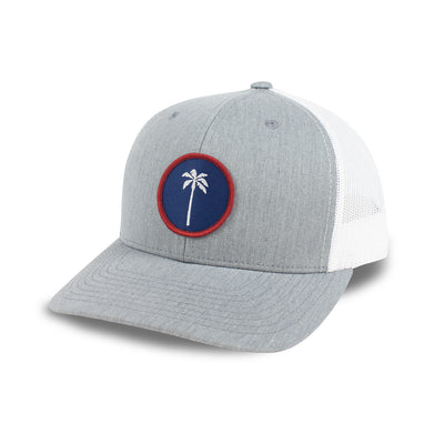 Local Snapback Trucker (Mid-Crown) - USA - Palm Golf Co.