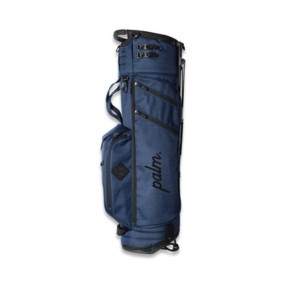 Palm x Jones 'Utility Trouper' Golf Bag - Navy Twill - Palm Golf Co.