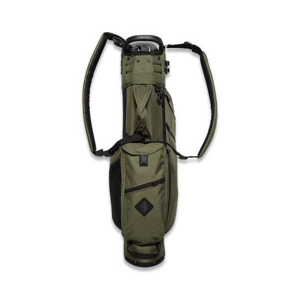 Palm x Jones 'Utility Trouper' Golf Bag - Olive - Palm Golf Co.