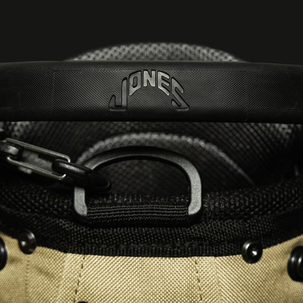 Palm x Jones 'Utility Trouper' Golf Bag - Sand - Palm Golf Co.