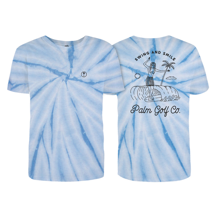 Zephyr T-Shirt - Tie Dye - Palm Golf Co.