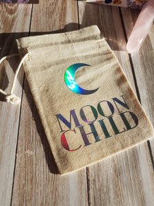 Moon Child Tarot / Crystal / Rune Pouch