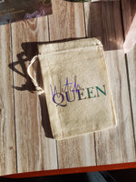 Load image into Gallery viewer, Witch Queen Tarot / Crystal / Rune Pouch