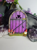 Load image into Gallery viewer, Whimsical Gnome Fairy Door