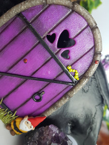 Whimsical Gnome Fairy Door