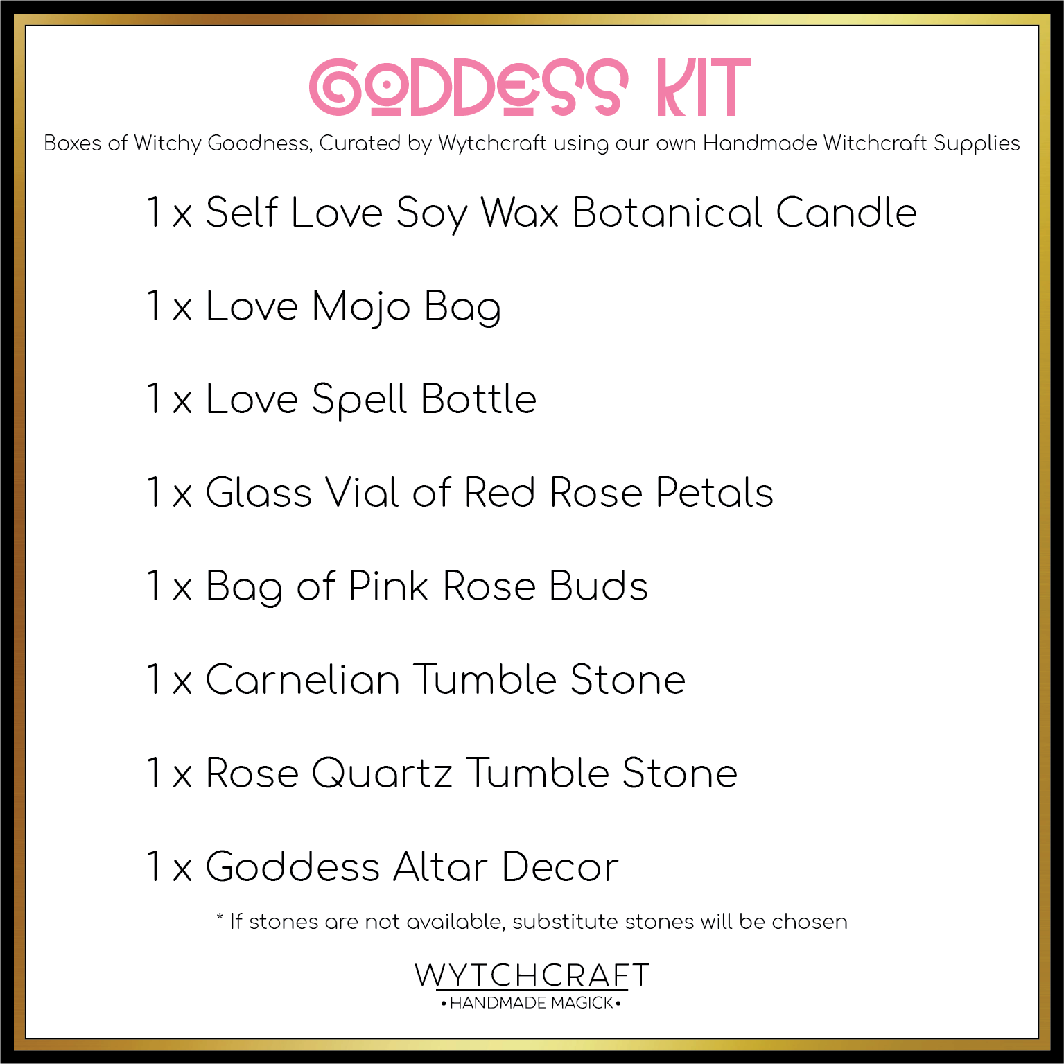 Goddess Self-Love Kit