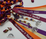 Load image into Gallery viewer, Custom Handfasting Cords by Sacred Knot