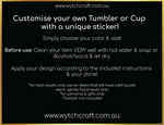 Load image into Gallery viewer, Witchy Hats Tumbler Sticker