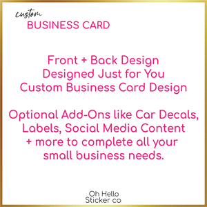 Custom Small Business Package One