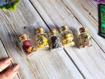 Load image into Gallery viewer, Mini Witches Herb Bottle Set of 5