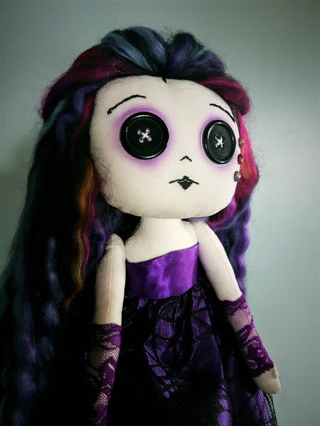 Morgana Handmade Art Doll