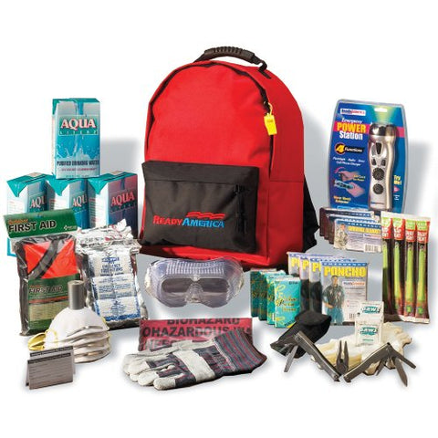 Ready America Deluxe Emergency Kit 4 Person